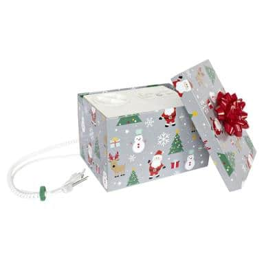 Silver Festive Automatic Christmas Tree Watering System