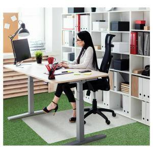 Ecotex® Polypropylene Rectangular Foldable Chair Mat for Carpets - 35'' x 46''