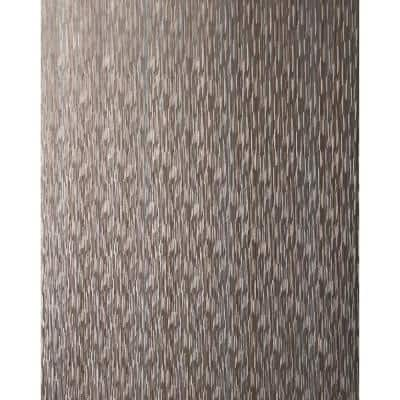 Theia Stria Rose Gold Paper Peelable Roll (Covers 56 sq. ft.)