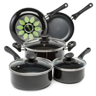 Artistry 8-Piece Aluminum Nonstick Cookware Set in Slate