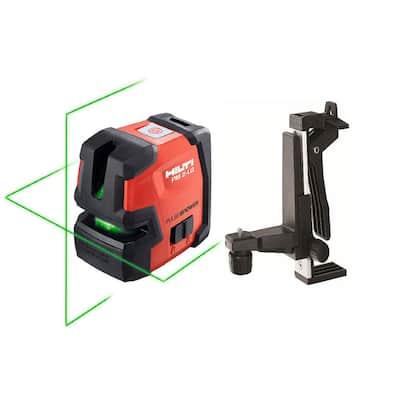 PM 2-LG Green Line Laser with PMA 82 Magnetic Bracket