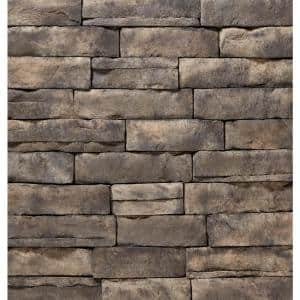 ClipStone Ash Ledgestone Flats 4''x''6 to 17'' Siding - 5 SF