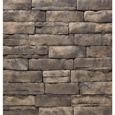 "ClipStone Ash  Ledgestone Corners 4""x3""x6"" to 10"" Siding - 4 LF"