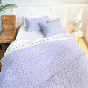 Arbor Lavender King Cotton Coverlet Set