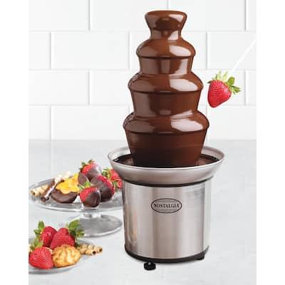 2 lb. 3-Tier Chocolate Fondue Fountain