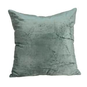 Jordan Transitional Sea Foam Solid Pillow Cover with Poly Insert