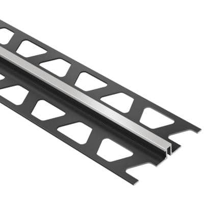 Dilex-BWS Classic Grey 1/2 in. x 8 ft. 2-1/2 in. PVC Movement Joint Tile Edging Trim