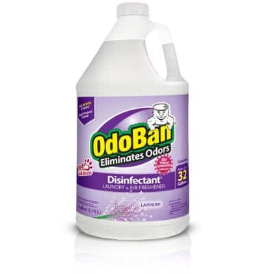 1 Gal. Lavender Disinfectant and Odor Eliminator, Fabric Freshener, Mold Control, Multi-Purpose Cleaner Concentrate