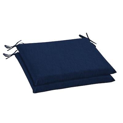 Oak Cliff 20 x 18 Sunbrella Spectrum Indigo Outdoor Chair Cushion (2-Pack)
