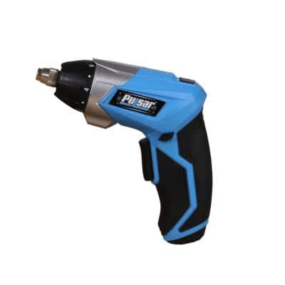 3.6-Volt Lithium-Ion Cordless Electric Screwdriver with 60-Degree Adjustable Handle with Battery 1 Ah, 1-Hour Charger