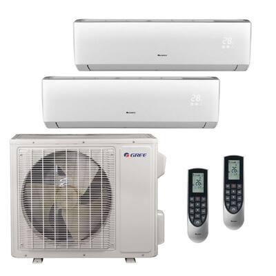 Multi-21 Zone 26000 BTU Ductless Mini Split Air Conditioner with Heat, Inverter, Remote -230-Volt
