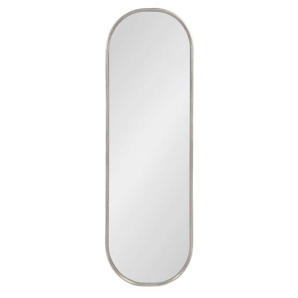 Kate And Laurel Caskill 48 In X 16, Full Length Oval Wall Mirror