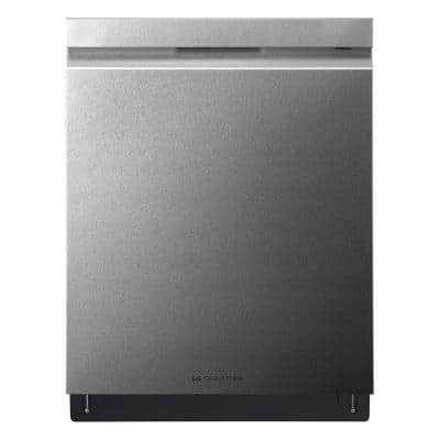 24 in. Stainless Steel Top Control Built-In Tall Tub Smart Dishwasher with Stainless Steel Tub & TrueSteam, 38 dBA
