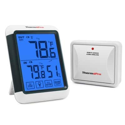 TP65 Digital Wireless Indoor Outdoor Hygrometer Thermometer Temperature Humidity Meter
