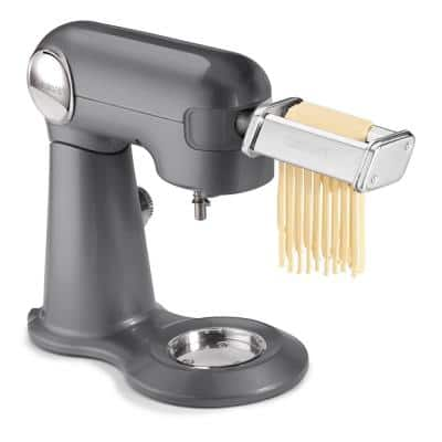 5.5 Qt. Stainless Steel Pasta Roller and Cutter Attachment Stand Mixer