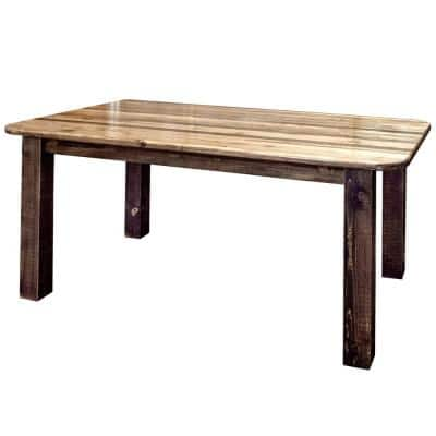 Homestead Collection Early American 4-Post Dining Table