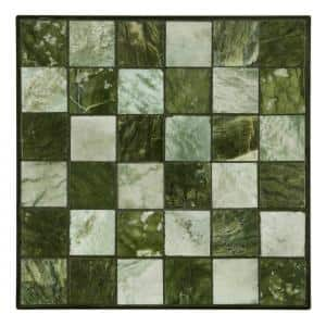 12 in. x 12 in. Jade Small Tile Decorative Garden Stone