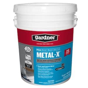 5-Gal. Metal-X Metal Roof Acrylic Coating