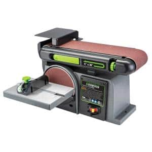 4 in. x 36 in. Belt and 6 in. Disc Combination Sander