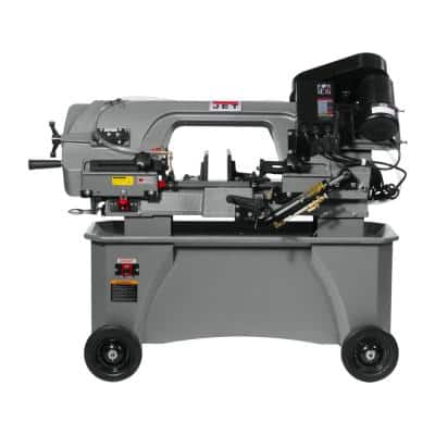 7 in. x 12 in. Metalworking Variable Speed Horizontal/Vertical Bandsaw, 1 HP,115-Volt,1Ph