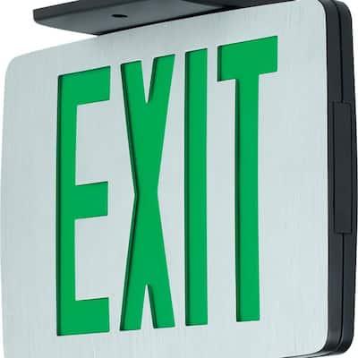 120-Volt Die-Cast Aluminum Integrated LED Exit Sign
