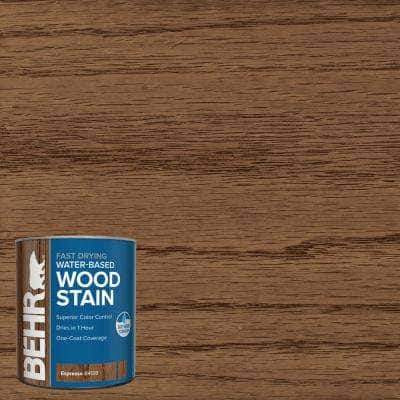 1 qt. #TIS-518 Espresso Transparent Water-Based Fast Drying Interior Wood Stain