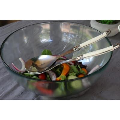 Laguiole 2-Piece Faux Ivory Salad Servers