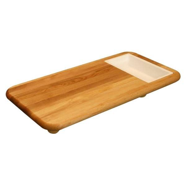 Catskill Craftsmen - Hardwood Cutting Board with Cut 'n' Catch Removable Tray