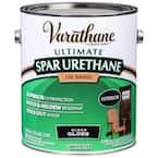 1 gal. Clear Gloss 350 VOC Oil-Based Exterior Spar Urethane (2-Pack)