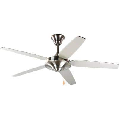 AirPro Signature 54 in. Indoor Brushed Nickel Modern Ceiling Fan
