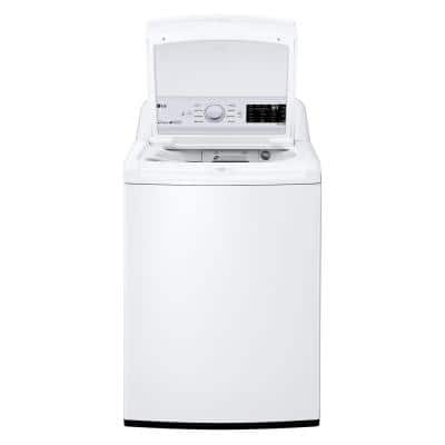 4.5 cu. ft. HE Ultra Large Top Load Washer with ColdWash, 6Motion & TurboDrum Technology in White, ENERGY STAR