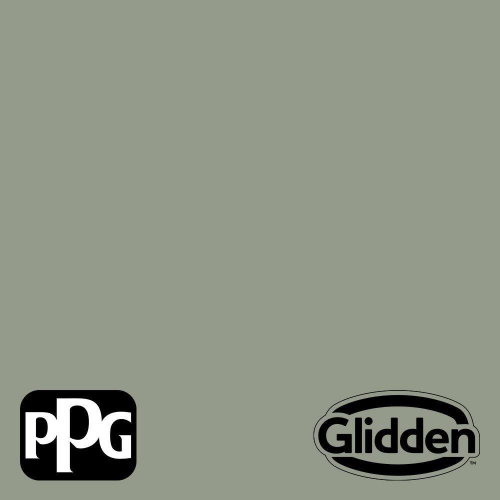 Glidden Premium 8 Oz Ppg1128 5 Green Tea Leaf Flat Interior Paint Sample Ppg1128 5p 16f The Home Depot