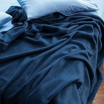 Cotton Fleece Woven Blanket
