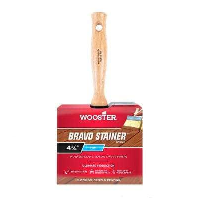4-3/4 in. Bravo Stainer Bristle Brush