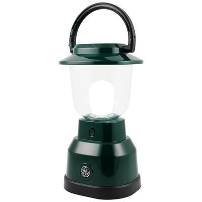 Enbrighten Battery Operated LED Lantern, Green