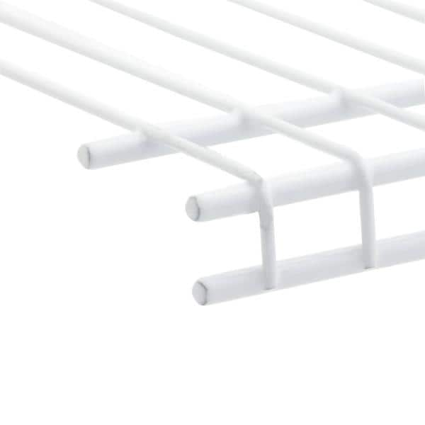 White 469x59x12mm Genuine Indesit Wire Shelf Trim