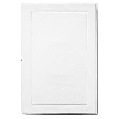 12.63 in. x 8.63 in. White Polypropylene Jumbo Light Mounting Block