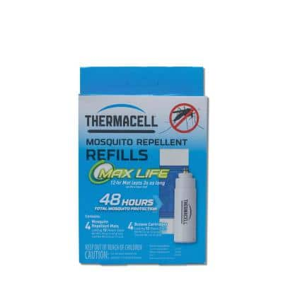 Mosquito Repellant Max-Life Refill Pack 48  Hours and Deet Free