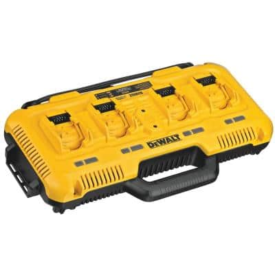 12-Volt/20-Volt/60-Volt MAX 4-Port Lithium-Ion Battery Charger