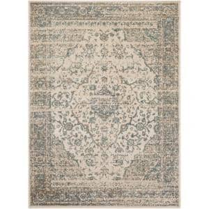 Artistic Weavers Eveline Charcoal 2 Ft X 3 Ft Oriental Area Rug S00161010424 The Home Depot