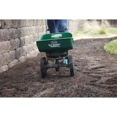Turf Builder EdgeGuard Mini Broadcast Spreader