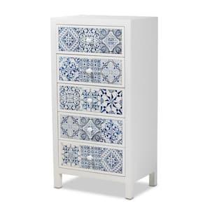 Alma White Storage Cabinet