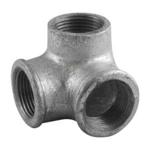 1/2 in. Galvanized Iron 90° Side Outlet Elbow