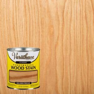 1 qt. Golden Pecan Classic Wood Interior Stain (2-Pack)