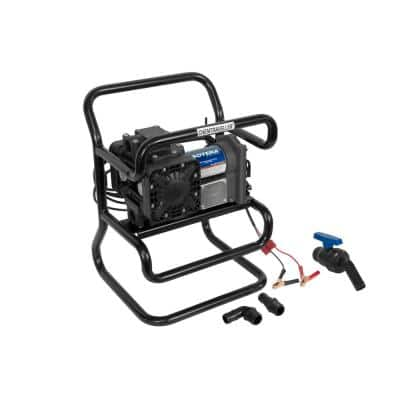 12-Volt 15 GPM 1/4 HP Industrial Chemical Transfer Pump Package