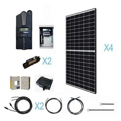 1280-Watt 12-Volt Off Grid Monocrystalline Solar Kit