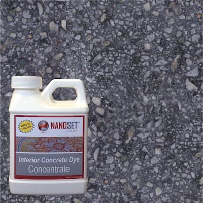 32-oz. Jet Stone Interior Concrete Dye Stain Concentrate