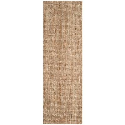 Natural Fiber Beige/Ivory 3 ft. x 12 ft. Indoor Runner Rug