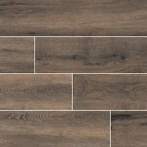 Toledo Balsam 6 in. x 36 in. Matte Porcelain Floor and Wall Tile (13.5 sq. ft. /Case)