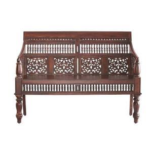 Maharaja Walnut Bench